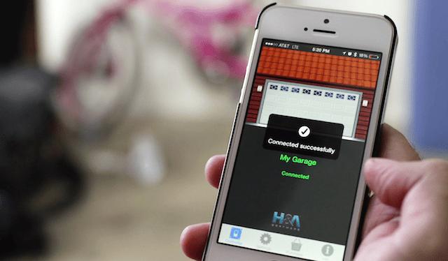 open garage door with iphoneOpen Sesame  Smart Phone Garage Door Opener  Indiegogo