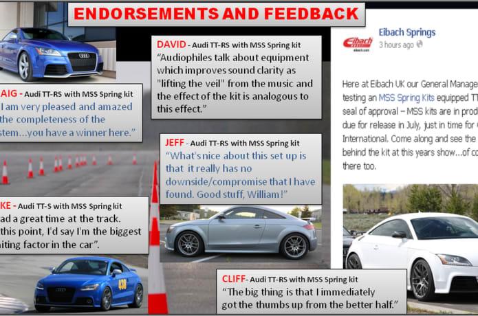 Enhanced Car Suspension Systems! | Indiegogo