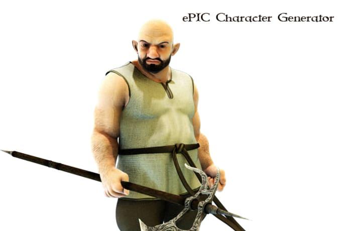 ePIC Character Image Generator | Indiegogo