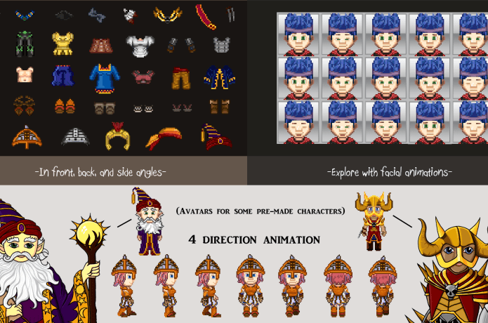 Graphics for Games- 2D Assets for Indie Developers | Indiegogo