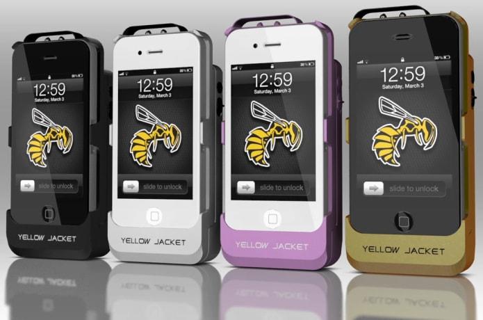 Yellow Jacket Stun Gun iPhone Case | Indiegogo