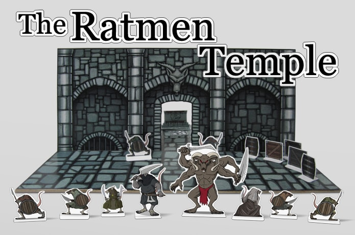 Ratmen Temple fantasy tabletop rpg accessories   Indiegogo