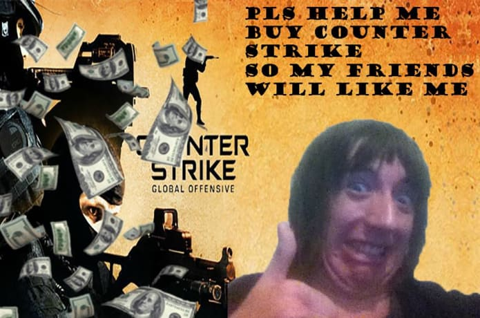 Help me buy Counter Strike Global Offensive   Indiegogo