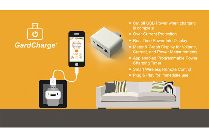 GardCharge: Smart USB Timer Charger Protector | Indiegogo