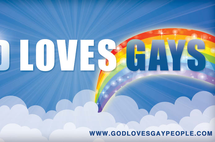 GOD LOVES GAYS Billboard Project | Indiegogo