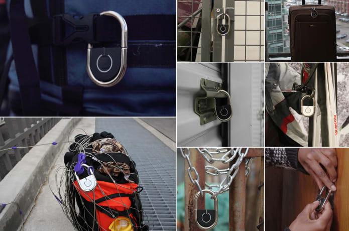 TAPP: The World's First Smart Fingerprint Padlock | Indiegogo