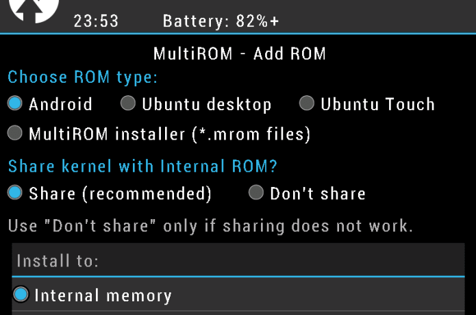 MultiROM for Nexus 7 2013 | Indiegogo