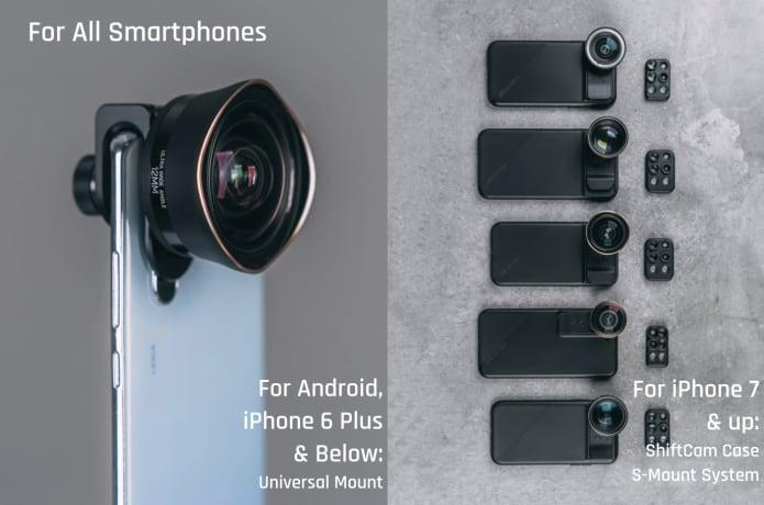 Combine DSLR&Mobile: 12mm Ultra Wide Aspheric Lens | Indiegogo