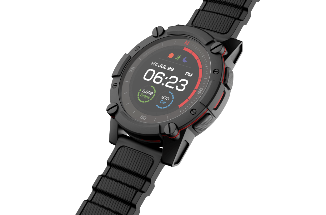 Smartwatch Powered by You - MATRIX PowerWatch 2