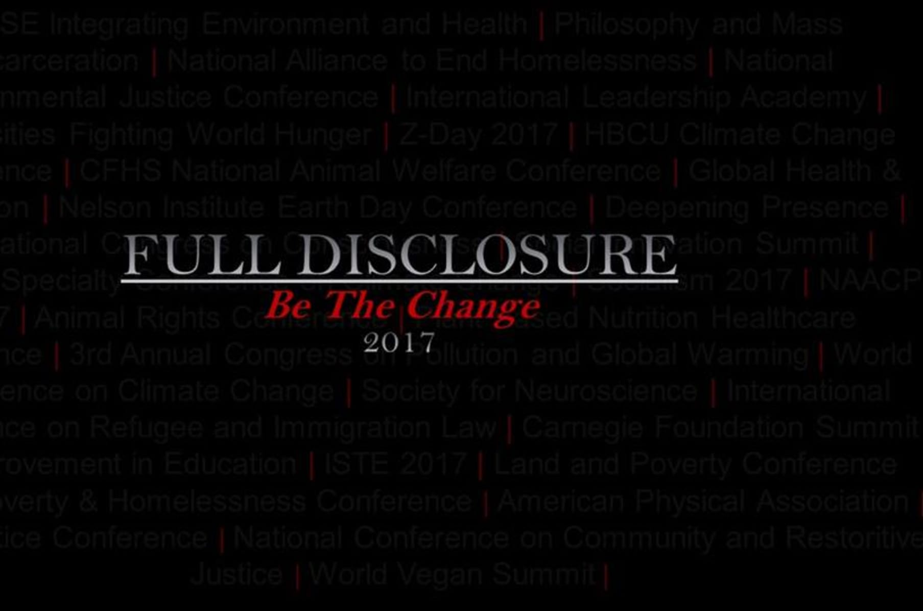 Full Disclosure Group Conference Tour