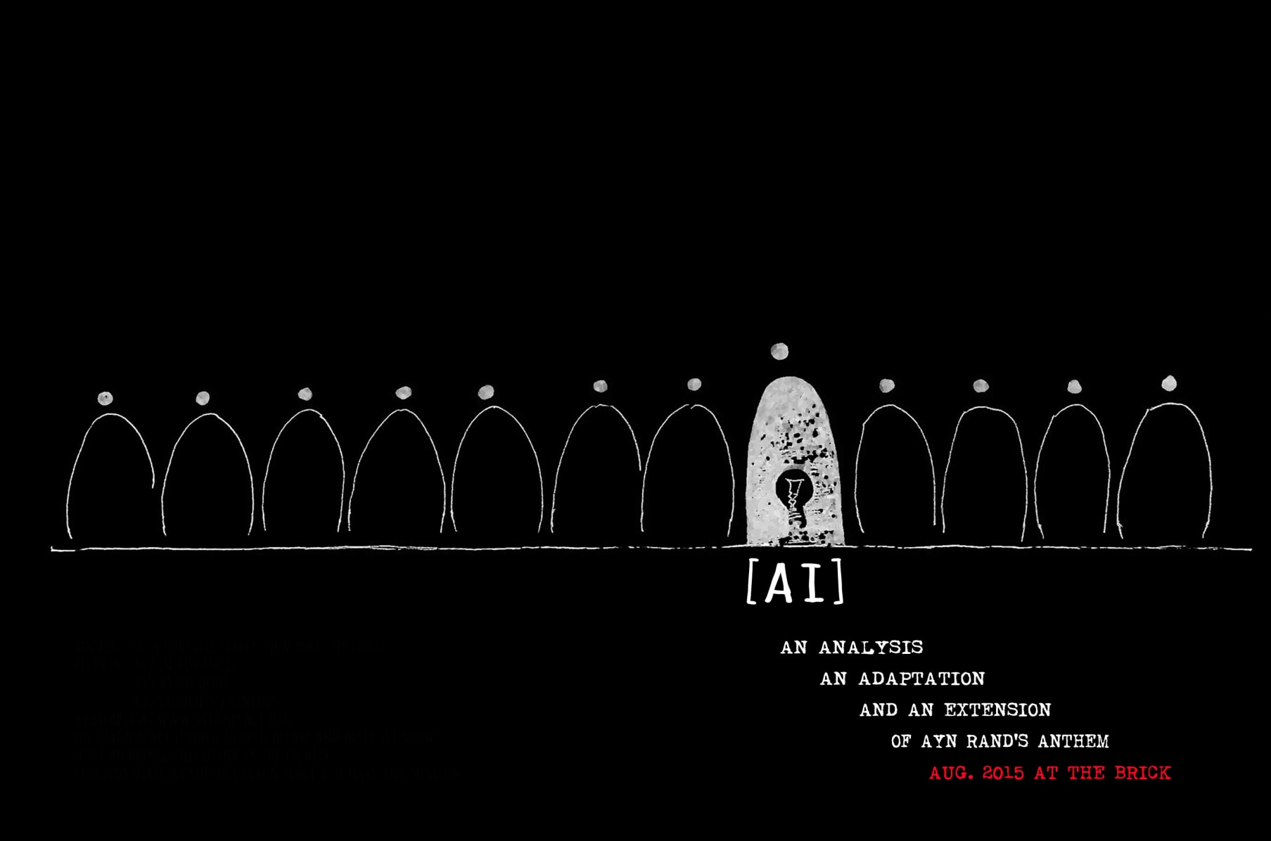 Ai A New Adaptation Of Ayn Rand S Anthem Indiegogo