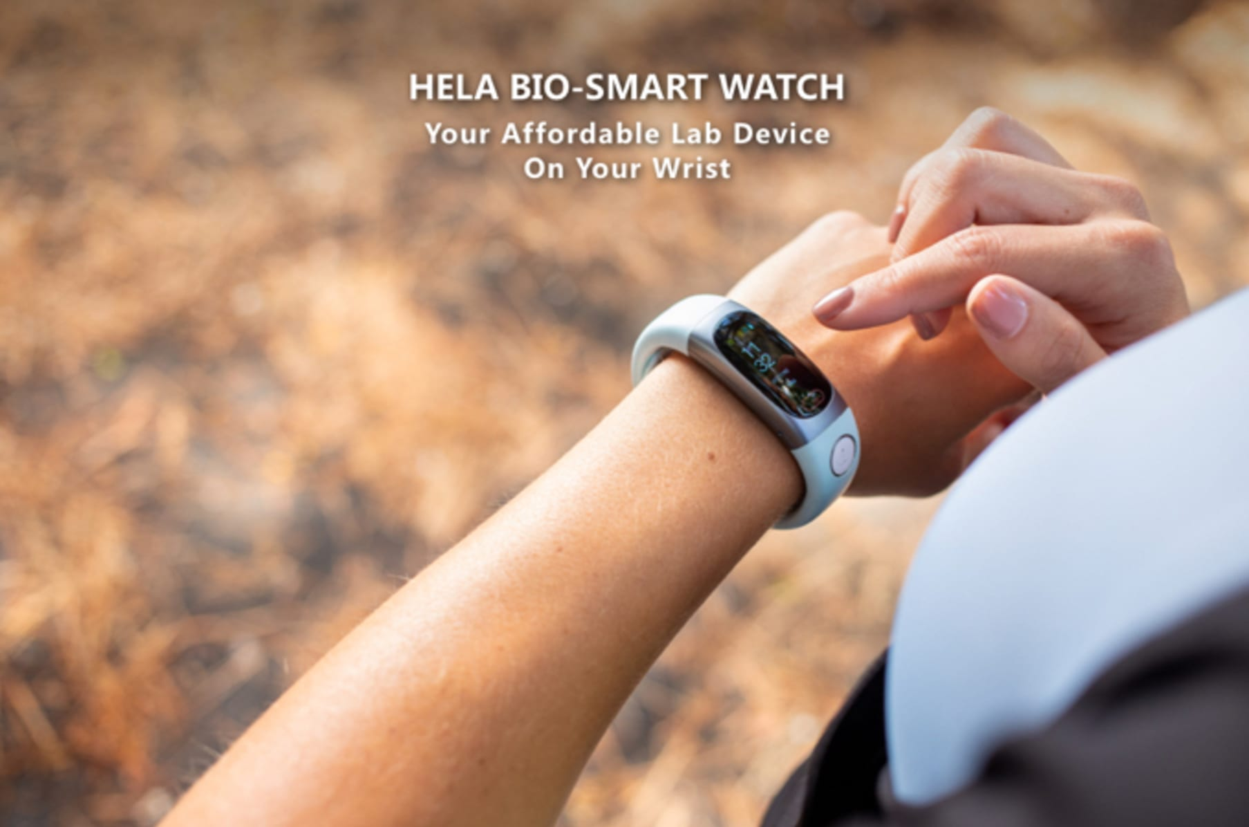 A Wearable Sweat Glucose Smartwatch | Indiegogo