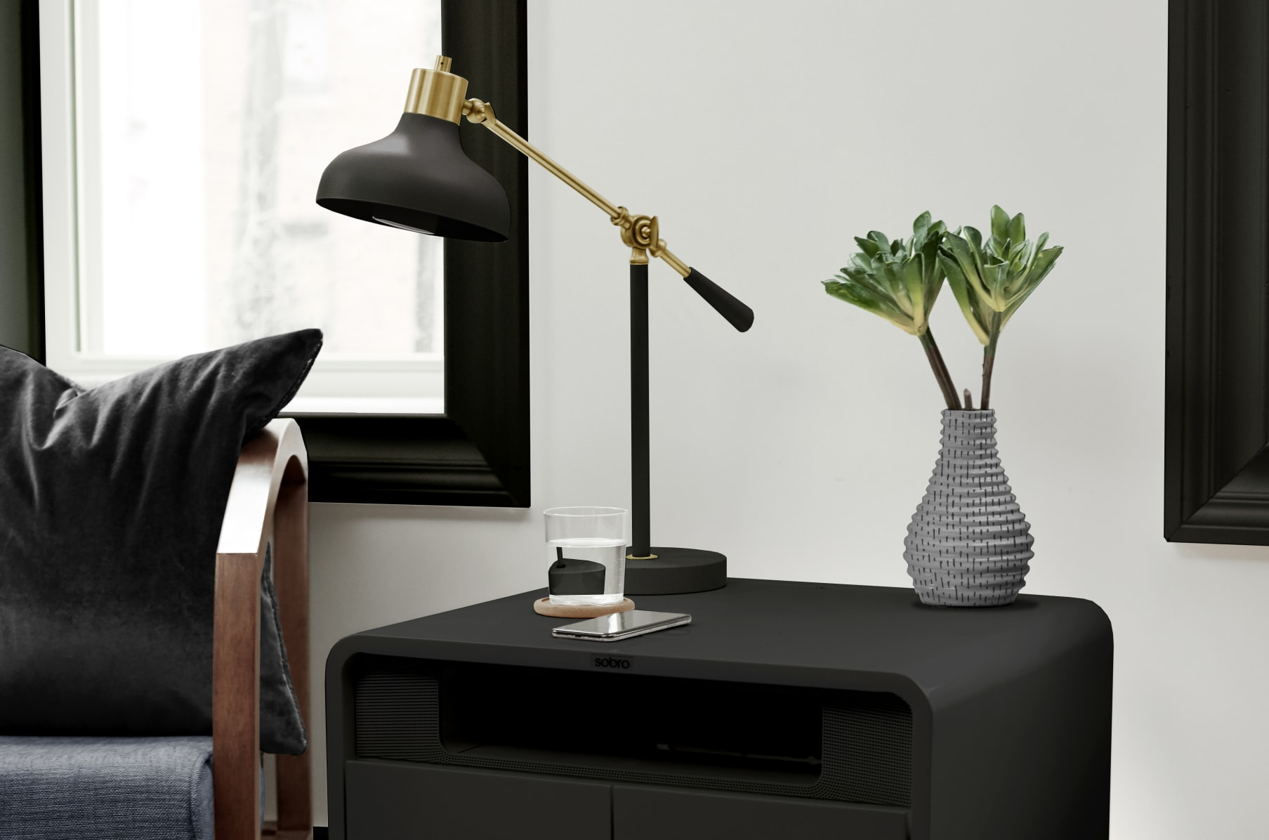 Sobro Smart Side Table Indiegogo