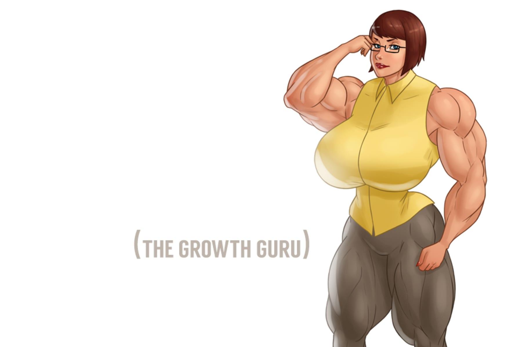 Comics female muscle growth Plastikevol