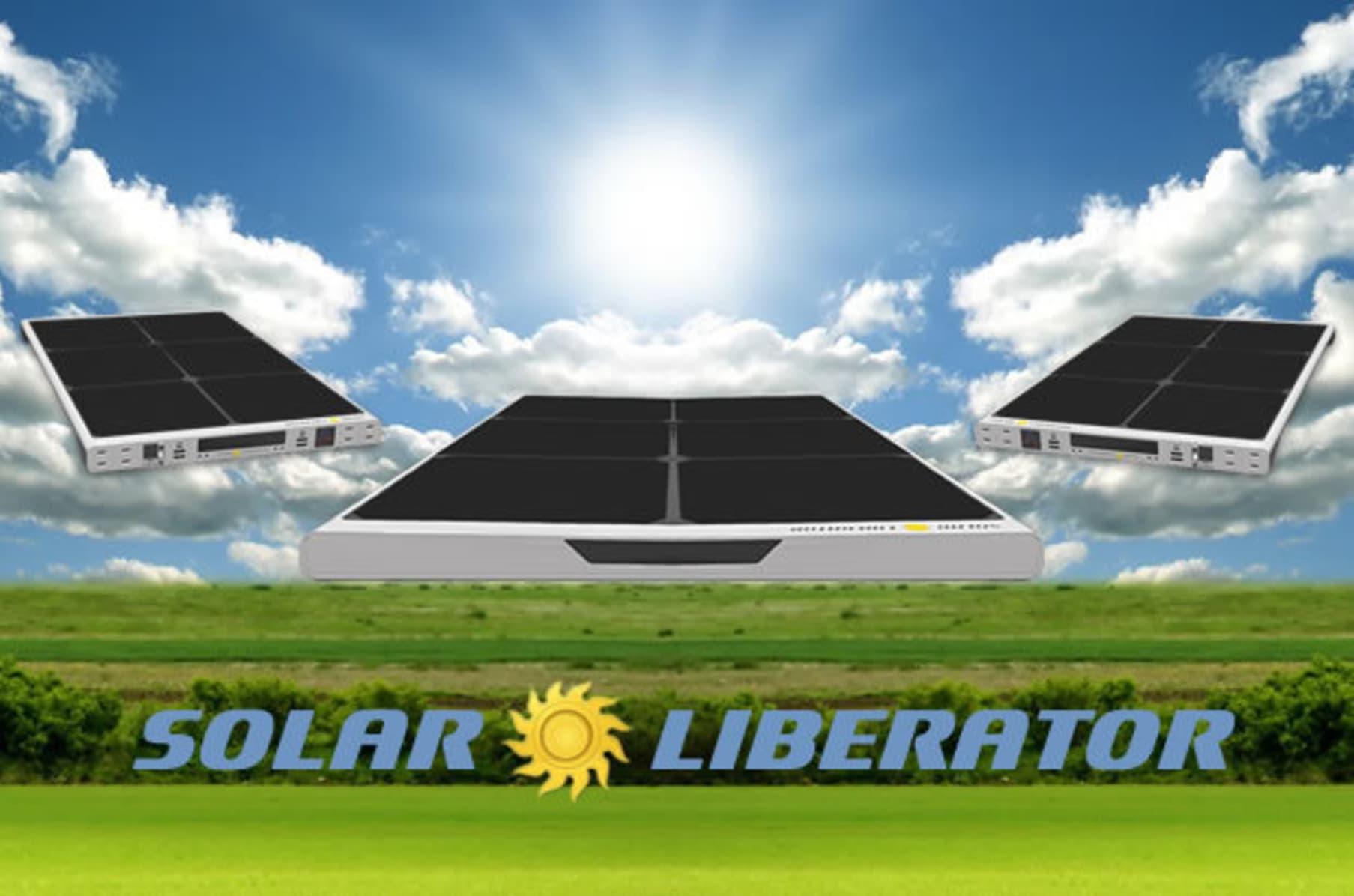 Solar Liberator Indiegogo