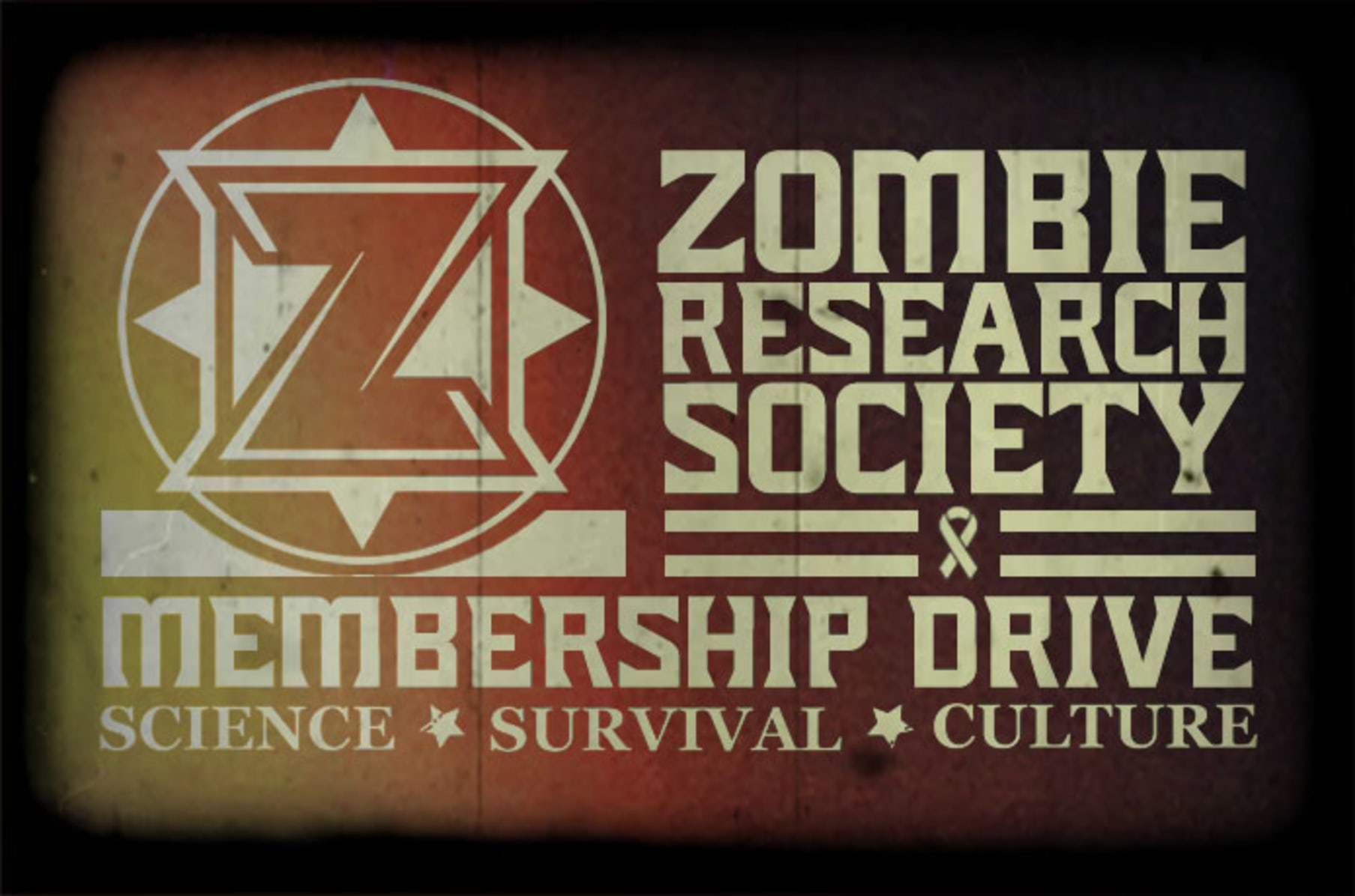ZOMBIE RESEARCH SOCIETY: Membership Drive | Indiegogo