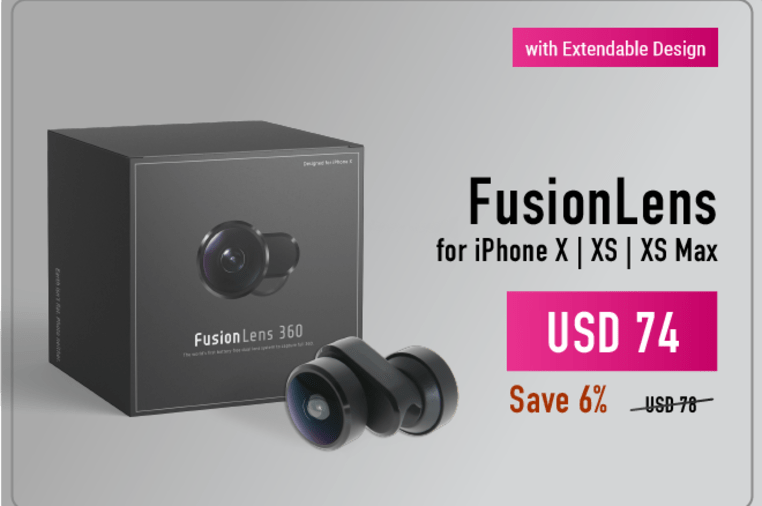 best service 9ff48 619b9 SMART LENS - ONE FOR ALL FusionLens 2.0 | Indiegogo
