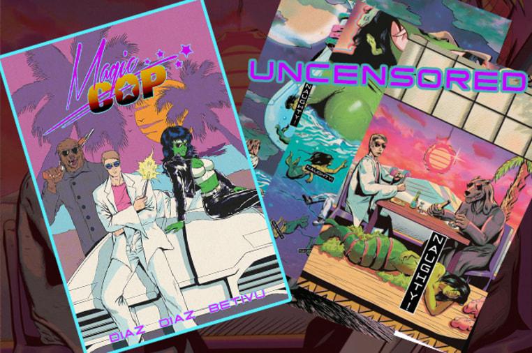 MAGIC COP : Drop Dead Legs Comic | Indiegogo