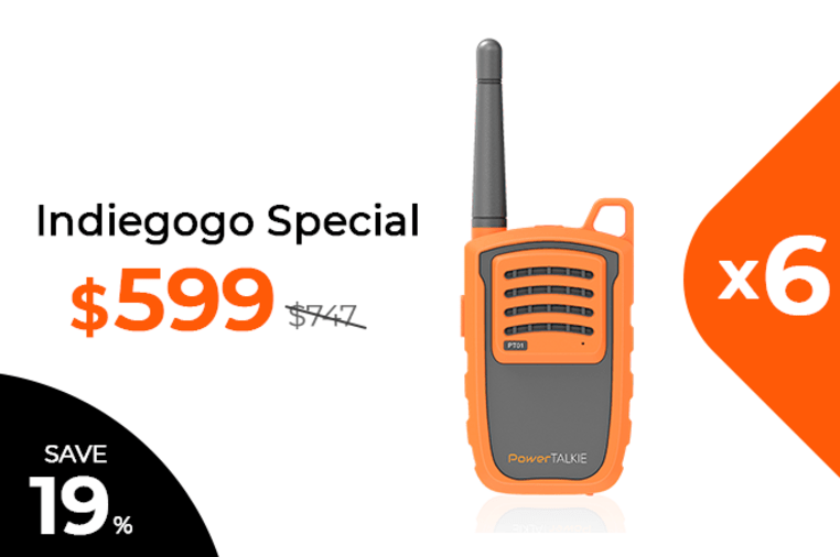 PowerTalkie: The Advanced Off-Network Comms Device | Indiegogo
