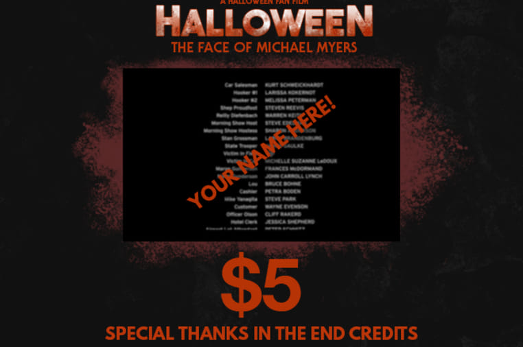 HALLOWEEN: THE FACE OF MICHAEL MYERS | Indiegogo
