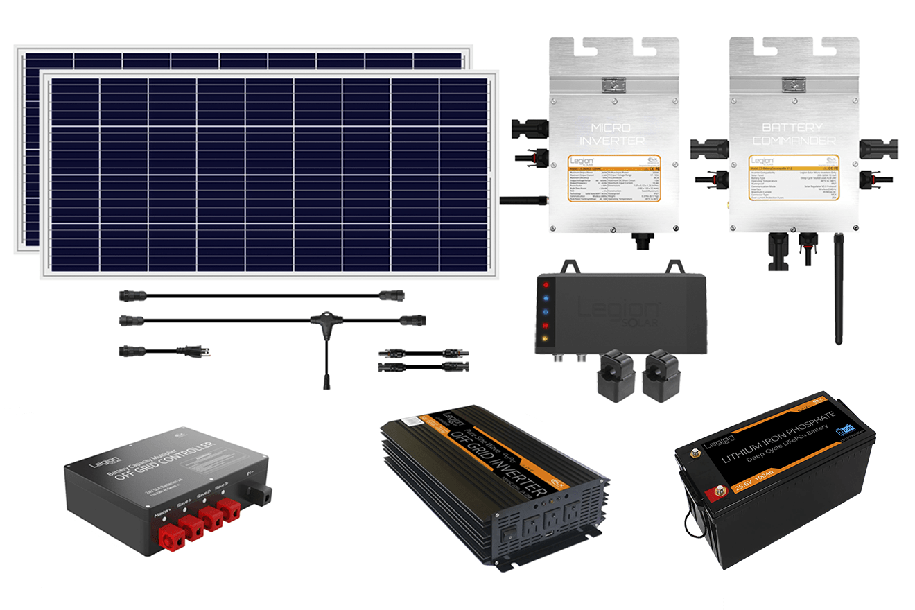 Legion Solar 5 - Permission Free Energy & Lithium | Indiegogo